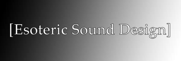 Esoteric Sound Design Store Header2