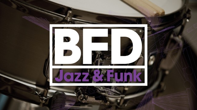 BFD Jazz and Funk Reason ReFill
