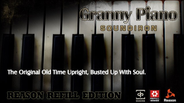 Granny Piano Reason ReFill